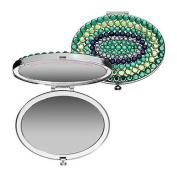 Tarina Tarantino-Jewel Mirror Compact-emerald pretty