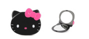 Hello Kitty Black with pink Bow Compact Mirror