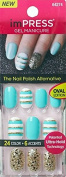 "**NEW** KISS imPRESS Oval Nails ""GOSSIP GIRL"" by Broadway Press-On Manicure Nails"