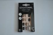 Sensationail Salon Nails Set, 28 Nails, 14 Sizes, Short, Pre-Glued 72150