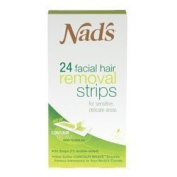 NADS HAIR REMOVAL STRPS FACIAL Size