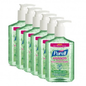 Purell. Original Hand Sanitizer - 240ml / 6 per Case by Purell