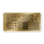 colour CLUB NAIL ART STAMPING PLATE-INDIA