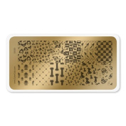 colour CLUB NAIL ART STAMPING PLATE-DOGS