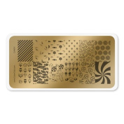colour CLUB NAIL ART STAMPING PLATE-CANDY