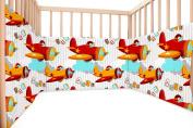 Baby Aviator / SoulBedroom Cotton Cot Bumper Pad Half