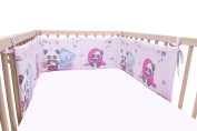 Baby Panda & Friends / SoulBedroom Cotton Cot Bumper Pad Half