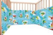 Baby Parrots / SoulBedroom Cotton Cot Bumper Pad Half