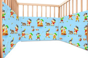 Baby Pirates / SoulBedroom Cotton Cot Bumper Pad Half