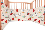 Baby Tommy Cat / SoulBedroom Cotton Cot Bumper Pad Half