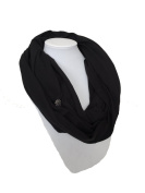 Liv and Lila Nursing Scarf - Black