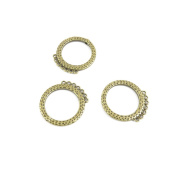 Price per 160 Pieces Fashion Jewellery Making Charms Findings Arts Crafts Beading Antique Bronze Tone Y6QB7 Ear Drop Earring Connector Joiner
