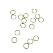 Price per 920 Pieces Fashion Jewellery Making Charms Findings Arts Crafts Beading Antique Bronze Tone O4MA6 Jump Rings 10mm