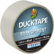 Transparent Duck Tape 4.8cm X20yd-Clear