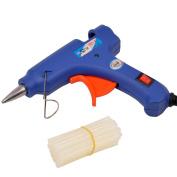 inkint Glue Gun Kit Hot Melting Glue Gun High Temperature Electric Glue Gun with 25pcs Melt Sticks Flexible Trigger for Craft Projects Package and Quick Repair