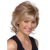 Asifen Long layers Human Hair Wigs for Women Blonde