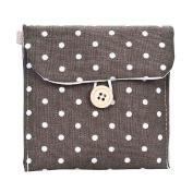 Sandistore Girl Cotton Nappy Sanitary Napkin Package Bag Storage Organiser