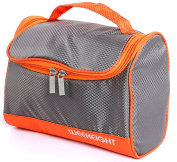 Portable Toiletry Bag Shower Bag Travel Organzier Dopp Kit with Hanging Hook