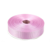 2.5cm Solid Grosgrain Ribbon 50 Yards-Roll Multiple Colours Available by Topenca Supplies