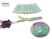 100pcs BeautyMood Floral Water Tubes Aqua Picks -Vials For Flower Craft Arrangements-Eco Friendly 7.6cm