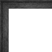Picture Frame Moulding (Wood) 5.5m bundle - Distressed/Aged Black Finish - 1....