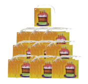 Iconikal Cardstock Tie-On Birthday Gift Tags - 70 Count