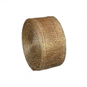 Jones International Natural and Gold Sinamay Ribbon