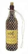 Jones International Hand Knotted Abaca Twine Drawstring Bags