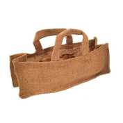 Jones International Miniature Handle Burlap Tote Gift Bags