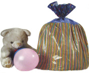 Giant Happy Birthday Gift Sack ~ 90cm x 110cm Bag with Matching Tag and Ribbon