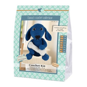 Go Handmade Fido The Dog 18cm Crochet Needlework Kit, All Parts & Materials Included!