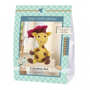 Go Handmade Gunilla The Giraffe 22cm Crochet Needlework Kit, All Parts & Materials Included!