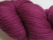 Wool Yarn - Worsted Weight, Naturally Dyed - Magenta