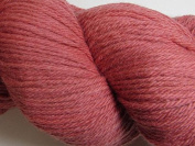 Wool Yarn - Worsted Weight, Naturally Dyed - Coral - By the Yard