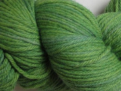 Wool Yarn - Worsted Weight, Naturally Dyed - Avocado Green - By the Yard