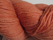 Wool Yarn - Worsted Weight, Naturally Dyed - Apricot - By the Yard