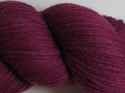 Wool Yarn - Worsted Weight, Naturally Dyed - Blood Red - By the Yard