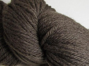 Wool Yarn - Worsted Weight, Naturally Dyed - Dark Brown