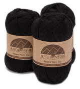 Alpaca Yarn Blend FINGERING Weight Skeins - SET OF 3 SKEINS - 654 Yards Total - 150 Grammes - 160mls Total