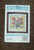 "LynnCraft Weekend Cross Stitch ""Tulips"""