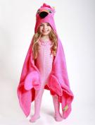 ZOOCCHINI Franny the Flamingo Hooded Towel
