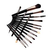 Xyindia(TM)Eye Shadow Eyebrow Brush Makeup Eliner Brushes Tools Cosmetic 15 pcs/Sets Eyelash Brushes Set