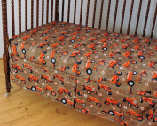 Allis Chalmers Tractor Crib Fitted Sheet