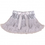 Little Kiddo Fashion Kids Children Baby Girl Adjustable Elastic Waist Patchwork Bow Lovely Cute Tutu Skirt Photo Prop