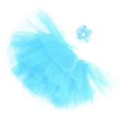 Little Kiddo Fashion Infant Newborn Baby Girls Flower Headband Mesh Ball Gown Tutu Skirts Photography Accessory Prop