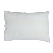 Snoozy Luxury Soft Toddler Pillow and Cotton Pillowcase Set, 33cm x 46cm