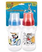 Looney Tunes Wide-Neck Bottles 330ml 2-Pack