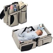 SCUDDLES 3 in 1 Nappy Travel Bassinet Change Station Bag All purpose #1 Baby Tote Bag