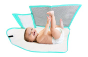 Pandaroos Portable Padded Waterproof Nappy Changing Pad