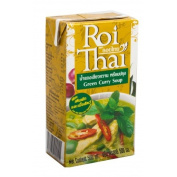 Roi Thai Green curry with flavoured water, 500 ml.